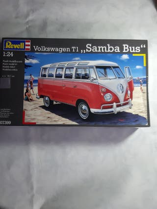 maqueta revell volkswagen t1 samba 1/24