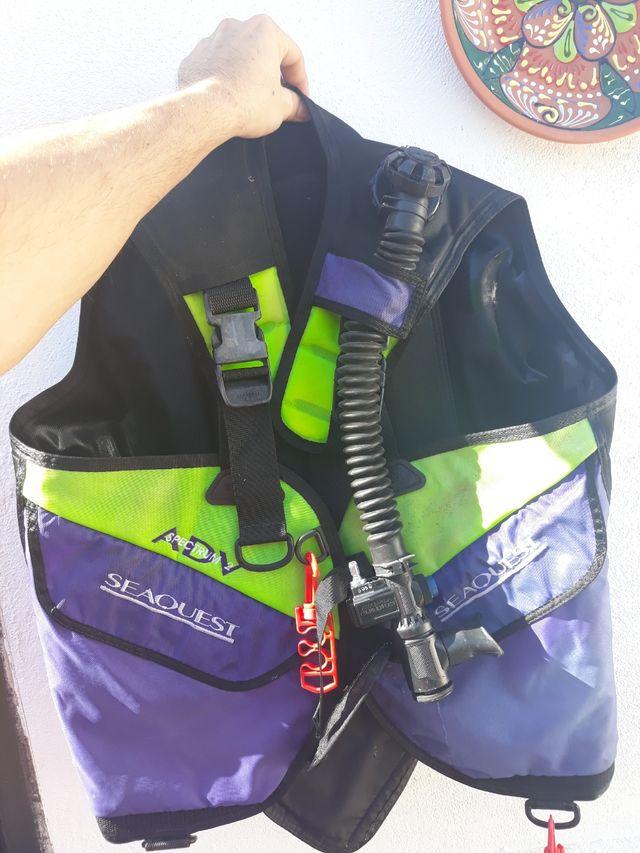 chaleco de buceo kit
