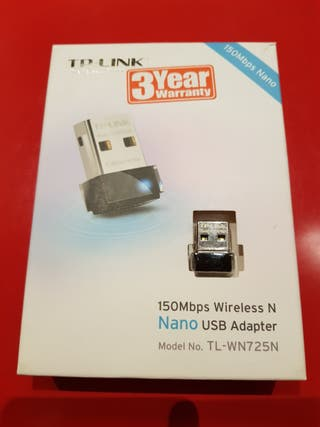 Adaptador usb para wifi en ordenador. TP-LINK