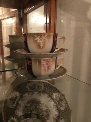 Set de 2 tazas té/café