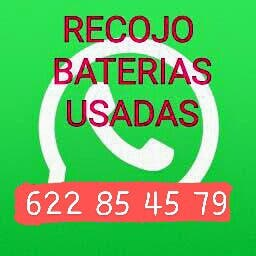 RECOJO BATERIAS USADAS