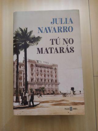 Libro Tú no matarás de Julia Navarro