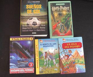 Libros de lectura para jóvenes/chicos