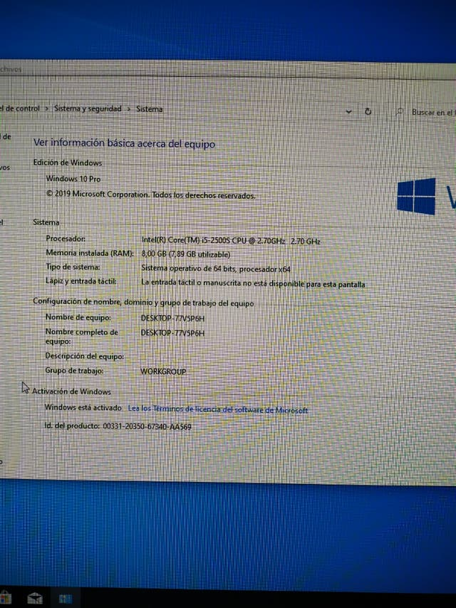 PC HP Compaq 8200 USDT i5