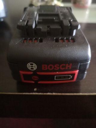 se vende bateria con cargador marca bosch