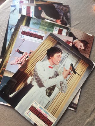 Vintage Mary Poppins pack Fotocromos