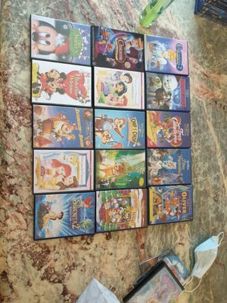 15 DVD ORIGINALES DISNEY