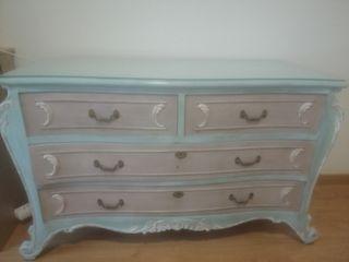 conjunto de muebles dormitorio vintage