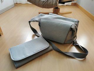 Bolso Cambiador Grey Melange Stokke