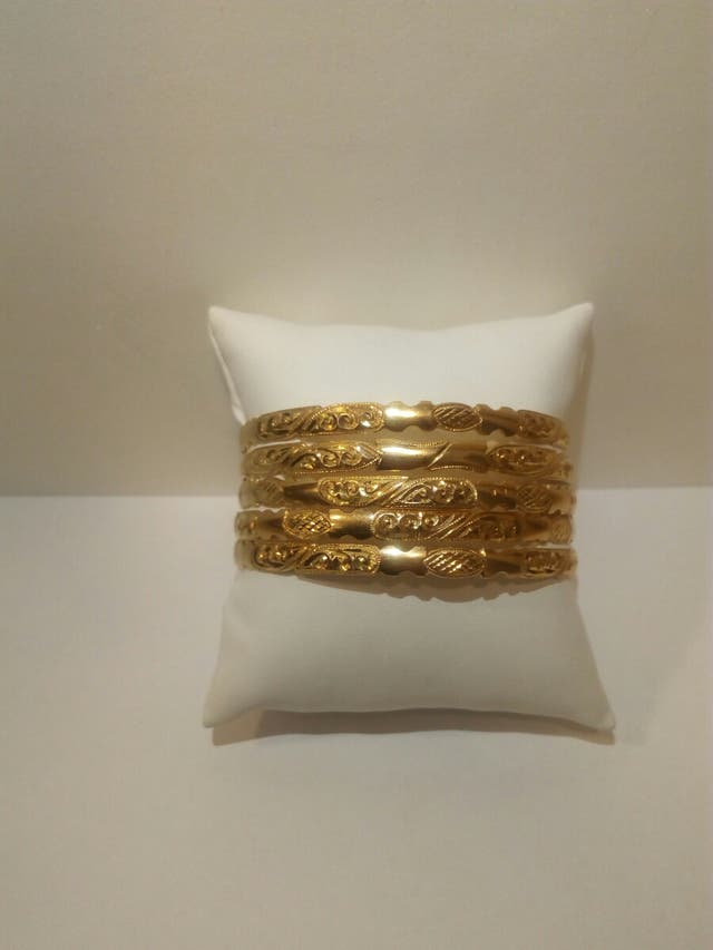 Pulseras oro