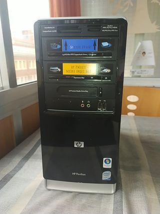 HP Pavilion y monitor LG