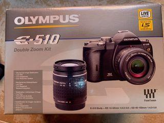 Cámara fotos Reflex Olympus E510
