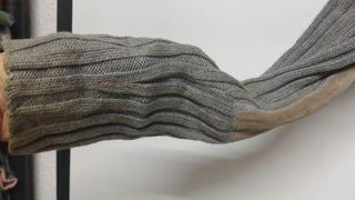 Jersey canale gris 100% algodon Mango tM
