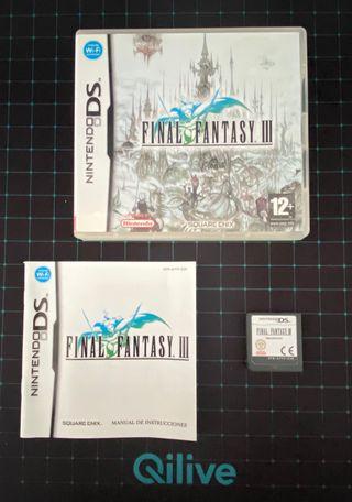 Final Fantasy III / Nintendo ds
