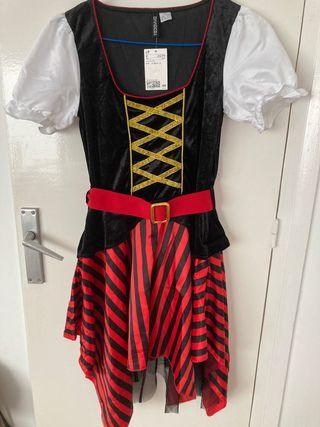 Disfraz pirata nuevo sin estrenar