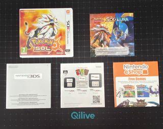 Pokemon Sol / Nintendo 3ds