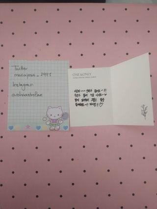 Astro One&Only Sanha mensaje