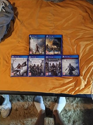 Saga Assassins Creed PS4