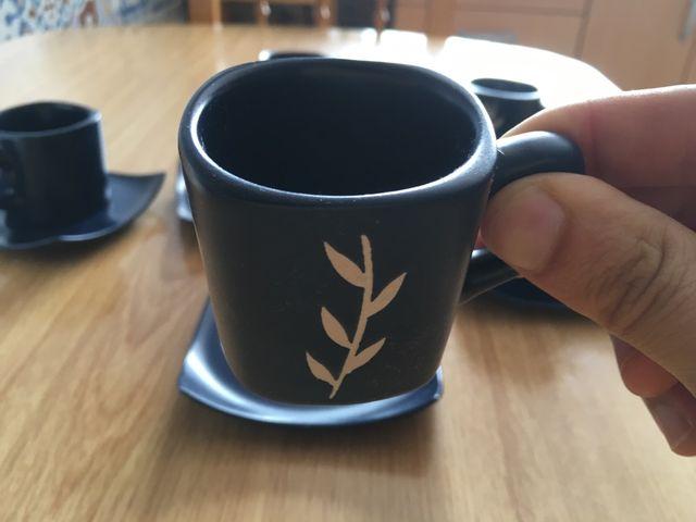 6 tazas para café