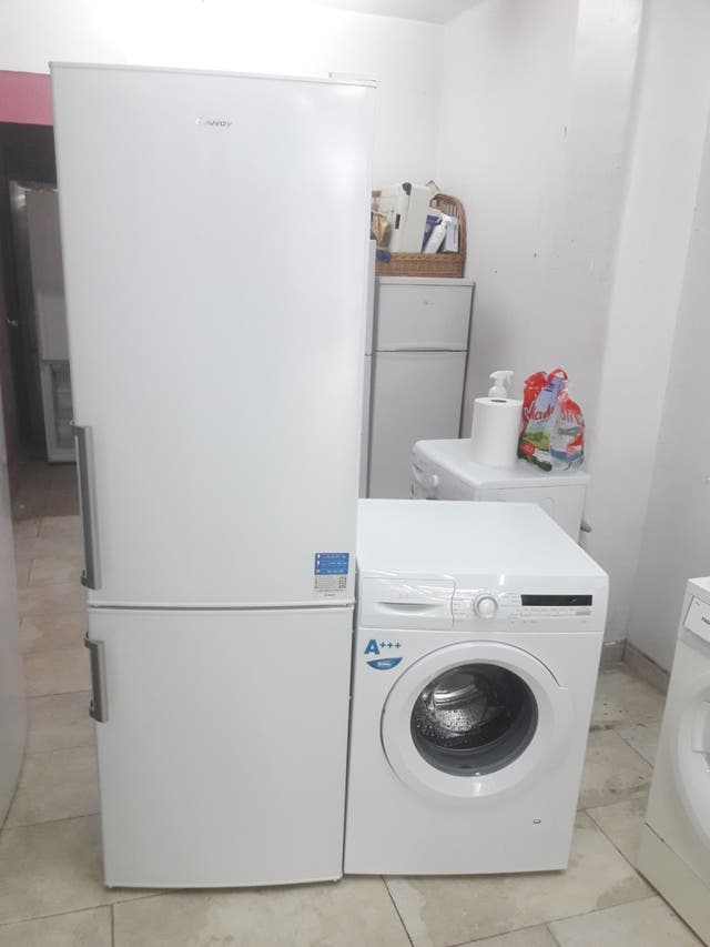 pack nevera y lavadora con garantía