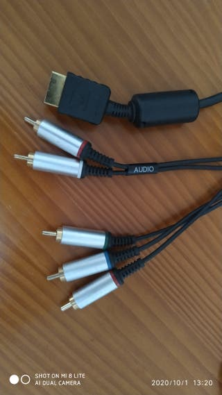 Cable componentes playstation 2