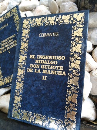 Libros antiguos. El ingenioso Hidalgo Don Quijote
