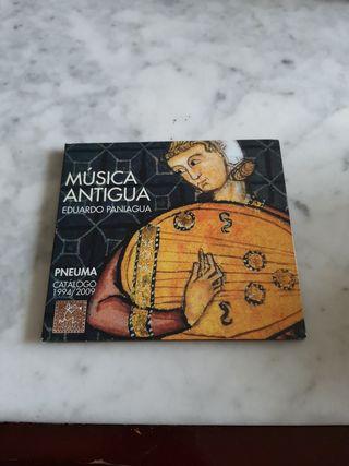 MUSICA ANTIGUA. EDUARDO PANIAGUA
