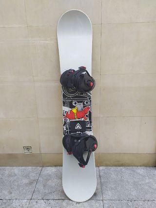 Tabla snowboard Sant Cruz + fijaciones
