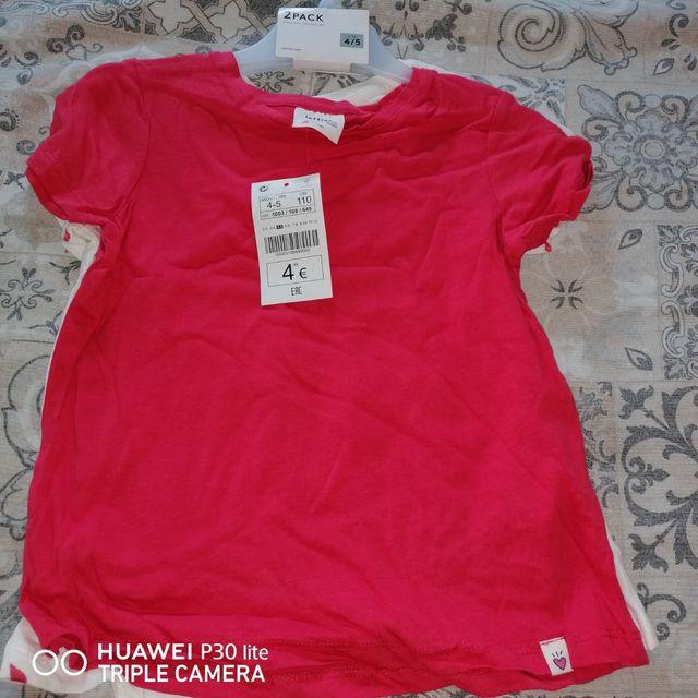 pack de 2 camisas para niña