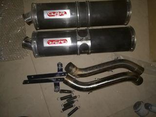 tubos de escape gpr para motores bicililndricos