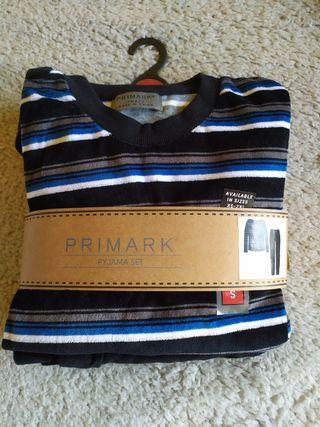 Pijama de invierno para hombre talla S