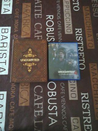 Uncharted collection más el uncharted 4