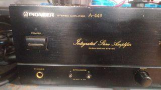 amplificador pioneer a 449