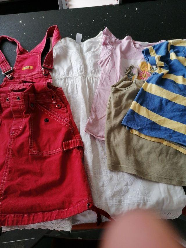 lote ropa niña 7 años