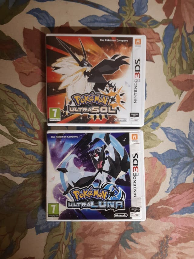 Pokemon ultrasol y ultraluna nintendo 3DS