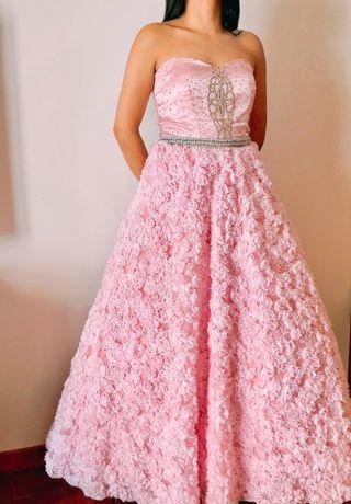 vestido. quinceañera