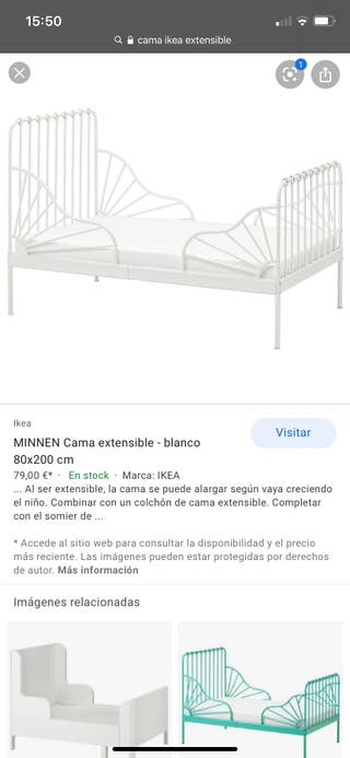 cama extensible ikea segunda mano mallorca
