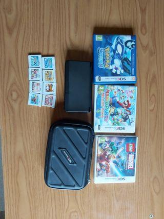pack new nintendo 3ds más juegos ¡¡ regalo funda!!