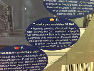 Sandwichera / tostador sandwich