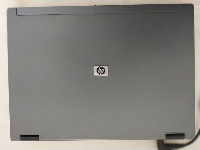 Portátil HP con disco SSD.