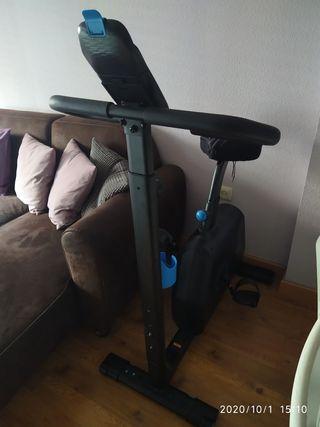 Bicicleta estática sin cables