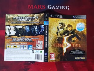 Portada Resident Evil 5 Gold Edition - Juegos PS3