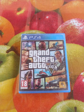 GTA 5 Grand Theft Auto V ps4