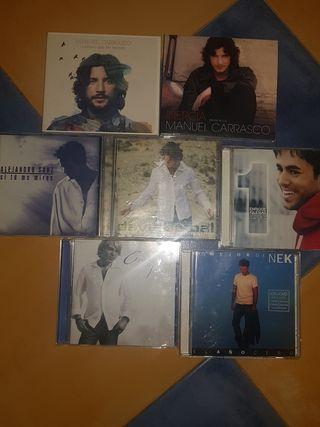 LOTE DE 7 CD