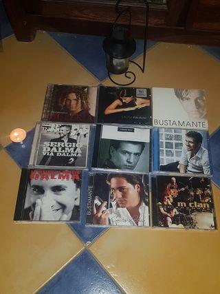 LOTE DE 9 CD ORIGINALES
