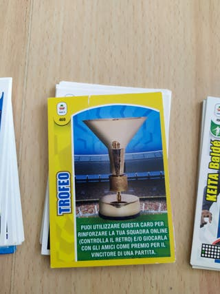 34 cromos Adrenalyn XL calcio 18-19