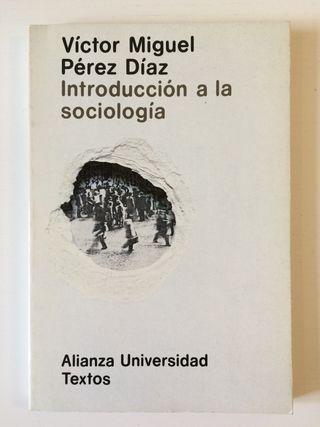 Introducción a la sociología - Libro