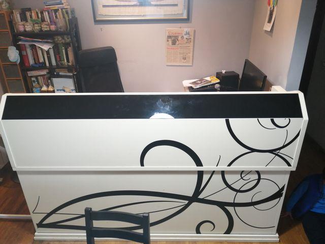 Mesa Escritorio ordenar madera lacada