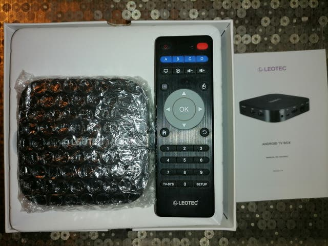 Android TV Box Leotec