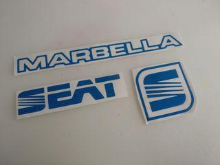 kit pegatina Seat Marbella